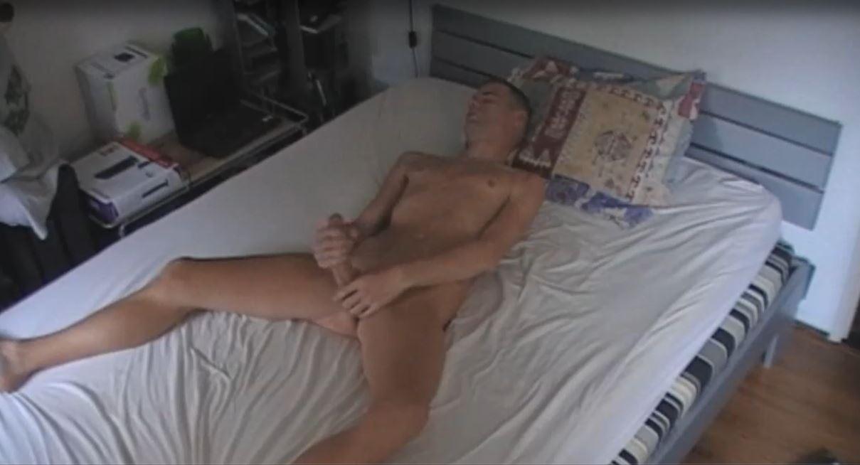 Lekker aftrekken op bed